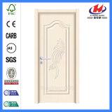 Двери PVC шкафа ламината листа ванной комнаты пластичные