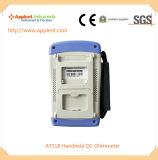 Verificador Handheld da resistência da C.C. com escala da medida de 10micro Ohm-200kohm (AT518L)