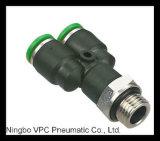 Connecteur pneumatique PC-G. Connecteur d'amorçage de G