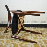 Krümmer-Stuhl festes Holz-gepolsterter Replik-Hans-Wegner (SP-EC724)