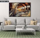 Het unieke Canvas Paitning van de Architectuur van Foto