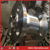 Valvola di ritenuta d'acciaio forgiata dell'ugello di flusso assiale