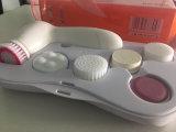 escova 6-in-1 facial para a face que limpa a escova de limpeza facial de Skincare