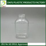 [250مل] محبوب زجاجة بلاستيكيّة واضحة مع نوع ذهب غطاء