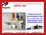 Автоматический наклон машина для термоформования чашки для ПЭТ