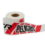 Kundenspezifisches warnendes Plastikband mit Vigin PET Material 100%