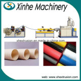 Single-Screw und Single-Wall gewölbter Plastikextruder-Maschinen-Rohr-Produktionszweig