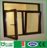Ventana barata de la vuelta de la inclinación de la aleación de aluminio/ventana Pnocpi003 del marco