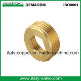 Tuerca Hex de cobre amarillo modificada para requisitos particulares certificada de la calidad (AV-BF-7041)