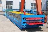 Rodillo de la capa doble del panel del material para techos del metal que forma la máquina