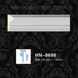 Hn8690を形成するポリウレタン壁パネルPUのコーニス