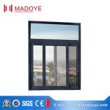 El vidrio esmaltado doble rompe termal la ventana de desplazamiento de aluminio