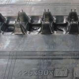 Piste en caoutchouc (425*90*42) pour l'usage de machine de moissonneuse