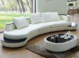 2017 sofà moderni diVendita del cuoio bianco con il Chaise (HC1069)