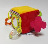 Juguete de encargo de la felpa del desarrollo del juguete de la felpa del bebé para el bebé