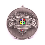 Sale Presentation Box를 위한 고대 Silver 3D Stamping Triathlon Medal Gift Factory