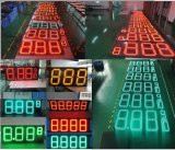7mm Pixel 12 8 '' 8,889 / 10 Digitale nummers LED Gas / Olie / Benzine Station Prijs Vertoning Sign Board Screen