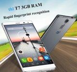 Azul esperto do telefone da impressão digital original do telefone móvel 4800mAh da polegada HD da ROM 5.5 do RAM 16g de Smartphone 3G do Octa-Núcleo Mtk6753 do Android 5.1 de Thl T7
