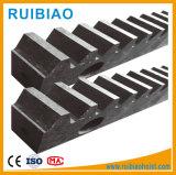 M4 20 * 20 * 1000 Rack de ferro galvanizado para porta deslizante