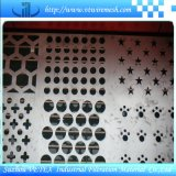 Rete metallica del foro di perforazione di AISI 304 utilizzata nell'industria