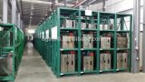 Rack de armazenamento de moldes desenho de armazém com prateleiras de arrancamento