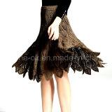 型手のかぎ針編みの夕方党スカートのイブニング・ドレスの服装のBeachwear