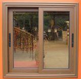 Aluminium gestaltetes Fenster mit Brise Soleil abgeglichenem glasierendem Rahmen
