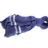 Custom70%のViscose 30%のウールによって混ぜられる人のスカーフ