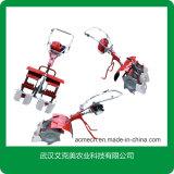 2列小型ガソリン水田の回転式除草機