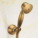 Flg Bath Shower Set com Faucet Antique Finish Cold and Hot