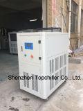 refrigeratore di acqua raffreddato aria 8kw per l'alimentazione della marcatura del laser