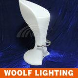 Taburete de barra impermeable de los muebles al aire libre LED