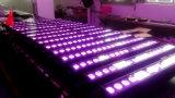 DMX 18X12W RGBW 바 LED 벽 세탁기 LED 빛