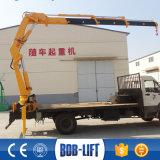 構築のための10トンブームクレーントラック