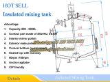 Acero inoxidable No aislado del tanque de mezcla 500 l tanque de mezcla