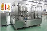Compléter la chaîne de production normale de jus de fruits avec la machine de remplissage d'animal familier jusqu'à la machine à emballer finale