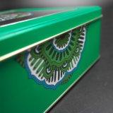 Квадратные жестяная коробка окна/подарки консервируют/коробка металла (S007-V2)