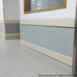 Trilhos de guarda de parede de plástico para hospitais