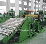 De Plaat die van het staal Machine rechtmaken die/aan de Lijn van de Lengte snijdt