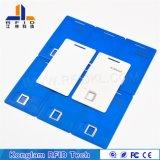 Fudan F08의 칩을%s 가진 교정 도서관을%s 지능적인 RFID 공백 카드가 타다남은 물품 특매에 의하여 값을 매긴다