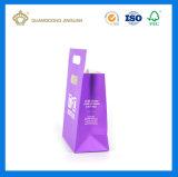 Le sac de transport de papier vendu promotionnel le moins cher avec la poignée de découpe (pour le parfum)