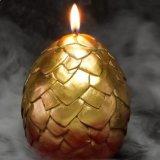 Soem kreative Ausbrütendinosaurier-Ei-Kerze für Dekoration