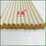Isolatie op hoge temperatuur 99.7% 99 Al2O3 Alumina Ceramische Buis in de Industriële Bescherming van de Oven of van het Thermokoppel van de Oven