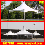 Double Roof Pinnacle Peak Festival Tent with Toilets Tank