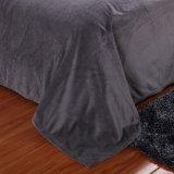 Cobertura de boa costura de tecido sólido para roupas de cama