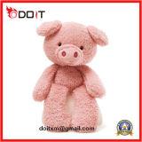 Giocattoli animali molli del maiale di colore rosa del giocattolo della cavia della peluche