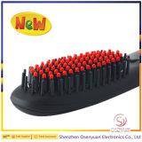 Nuevo peine de la enderezadora del pelo con diversos colores del LCD disponibles