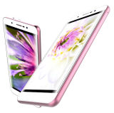 Invólucro metálico de 5 Polegadas Celular 4G LTE, Grande bateria somente 7.9mm corpo magro, 13MP, Smartphone M82 Celular Andriod 6.0
