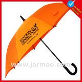 """"""" изготовленный на заказ напечатанный логосом выдвиженческий зонтик гольфа 27"""