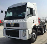cabeza tractora FAW camiones pesados 380hp del carro del tractor